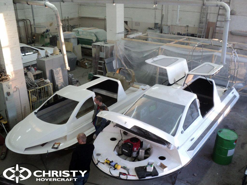 Катер на воздушной подушке Christy 6183 с инновационным двигателем Subaru FB20