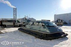 Новая модель амфибии на воздушной подушке Christy 8205 FC | фото №3