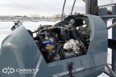 Чтобы преодолевать любые препятствия, катер-амфибия на воздушной подушке снабжен надёжным и мощным двигателем. | фото №8