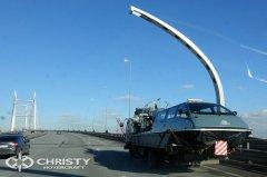 Судно-амфибия на воздушной подушке Christy 8205 перед передачей заказчику пройдет приемо-сдаточные испытания | фото №11