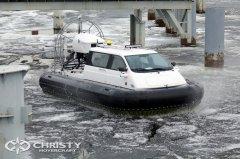 Тест-драйв судна на воздушной подушке Christy 5143 FC | фото №5