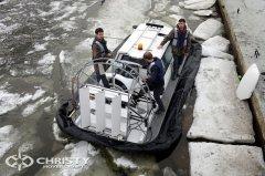 Тест-драйв судна на воздушной подушке Christy-5143 | фото №27