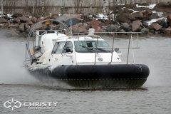 Начались продажи новой модели судна на воздушной подушке Christy 9205 FC Fishing Edition | фото №1