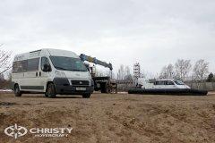 Подготовка ТС на воздушной подушке Christy-9205-fishing-edition к тест-драйву | фото №3