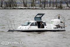 Christy-9205-fishing-edition - транспортное средство на воздушной подушке, оборудованное подъемными дверьми | фото №5
