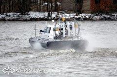 Вездеход на воздушной подушке Сhristy-9205-fishing-edition с легкостью скользит по водной глади | фото №12