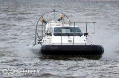 Стильный дизайн катера на подушке Christy-9205-fishing-edition разработан конструкторским отделом Christy Hovercraft | фото №16
