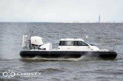 Плавсредство на воздушной подушке Christy-9205-fishing-edition с легкость преодолевает препятствия | фото №17