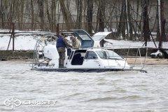 Представитель заказчика прошёл полный курс обучения управлению судном на воздушной подушке Christy-9205-fishing-edition | фото №28