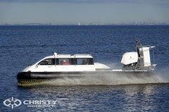 Результаты испытаний Christy-9205, проведенных при максимальной эксплуатационной нагрузке 1000 кг подтвердили отличные ходовые качества, маневренность и высокую амфибийность судна | фото №2