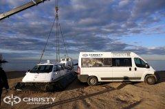 Результаты испытаний Christy-9205, проведенных при максимальной эксплуатационной нагрузке 1000 кг подтвердили отличные ходовые качества, маневренность и высокую амфибийность судна | фото №9