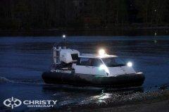 Christy Hovercraft занимается разработкой и производством амфибийных катеров на воздушной подушке Christy-7163 | фото №4
