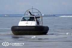 свп судно на воздушной подушке Christy 555. фото обзор | фото №18