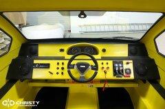 катер амфибия на воздушной подушке Christy 5143. Фото обзор. Вид кабины | фото №11