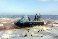 судно на воздушной подушке Christy 555. фото обзор | фото №14