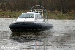 лодка на воздушной подушке Christy 555. фото обзор | фото №3