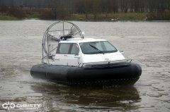 лодка на воздушной подушке Christy 555. фото обзор | фото №4