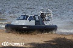 Судно на воздушной подушке проекта Сhristy-553 с тентом | фото №9