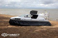 испытание судна на воздушной подушке Christy 6199 | фото №15