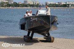Катер-амфибия на гусенечном ходу | фото №10