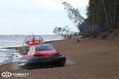 Катер на воздушной подушке Christy 6183 DeLuxe RESCUE Спасательный | фото №16