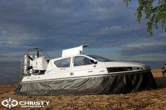 Обновленный катер на воздушной подушке Christy 6183 - Лучшие фото | фото №29