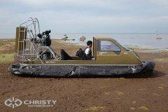 амфибия на воздушной подушке Christy 555. фото обзор | фото №28