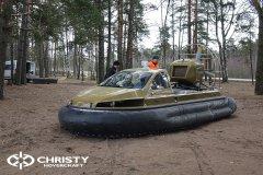 Технические испытания катера на воздушной подушке Christy 6183 Кабриолет | фото №1