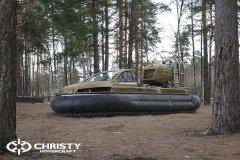 Технические испытания катера на воздушной подушке | фото №3