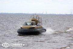 Технические испытания катера на воздушной подушке Christy 6183 Кабриолет | фото №5