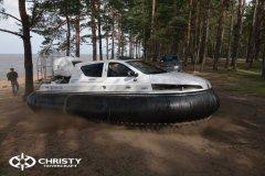 Катер на воздушной подушке Christy 6183 DeLuxe Интерьер Фото | фото №20