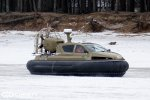 Испытания модернизированного катера на воздушной подушке Christy 6183 Military   фото №1