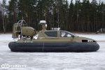Испытания модернизированного катера на воздушной подушке Christy 6183 Military | фото №4