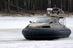 Испытания модернизированного катера на воздушной подушке Christy 6183 Military   фото №7