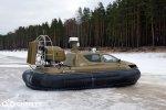 Испытания модернизированного катера на воздушной подушке Christy 6183 Military | фото №9