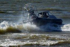 Экстремальное вождение судна на воздушной подушке | фото №6