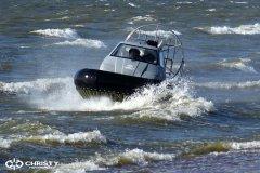 Экстремальное вождение судна на воздушной подушке | фото №13