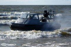 Экстремальное вождение судна на воздушной подушке | фото №27