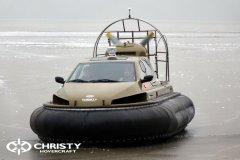 Обучение пилотов ChristyHovercraft вождению судна на воздушной подушке по тонкому льду | фото №9