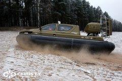 Обучение пилотов ChristyHovercraft вождению судна на воздушной подушке по тонкому льду | фото №12