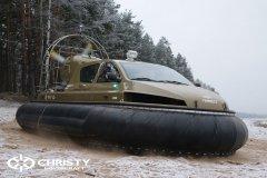 Обучение пилотов ChristyHovercraft вождению судна на воздушной подушке по тонкому льду | фото №17