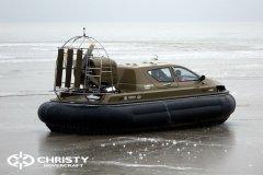 Обучение пилотов ChristyHovercraft вождению судна на воздушной подушке по тонкому льду | фото №24