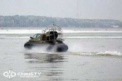 Обучение пилотов ChristyHovercraft вождению судна на воздушной подушке по тонкому льду | фото №36