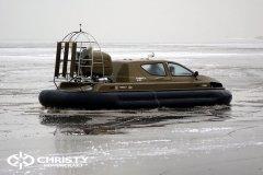 Обучение пилотов ChristyHovercraft вождению судна на воздушной подушке по тонкому льду | фото №39