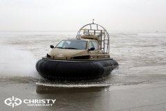 Обучение пилотов ChristyHovercraft вождению судна на воздушной подушке по тонкому льду | фото №48