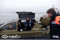 Обучение пилотов ChristyHovercraft вождению судна на воздушной подушке по тонкому льду | фото №50