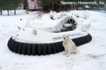 Катер на воздушной подушке Neoteric Hovertrek 455 (465) | фото №13