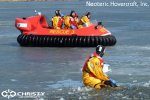 Спасательный катер на воздушной подушке Hovertrek 455 от Neoteric Hovercraft Inc | фото №7