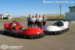 Спасательный катер на воздушной подушке Hovertrek 455 от Neoteric Hovercraft Inc | фото №12