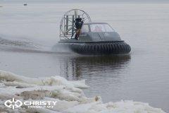 Испытание платформы Christy 555 на воде | фото №4